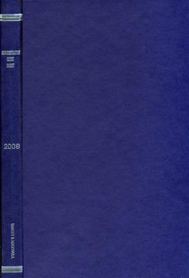 Administrative Court Digest 2009 Bound Volume (Hardback)