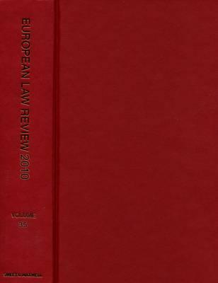 European Law Review 2010 Bound Volume (Hardback)