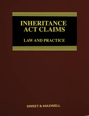 Inheritance Act Claims: Law and Practice (Hardback)