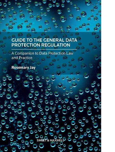 Guide to the General Data Protection Regulation: A Companion to Data Protection Law and Practice (Hardback)