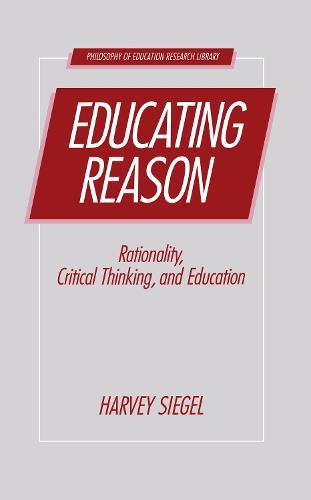 Educating Reason (Hardback)