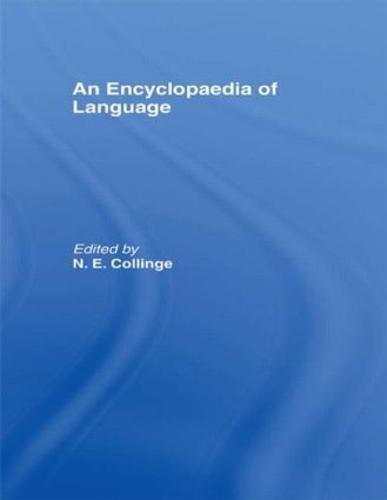 An Encyclopedia of Language (Hardback)