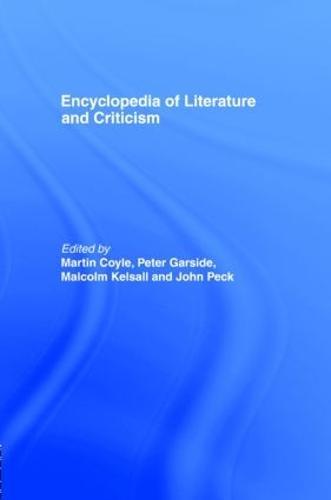 Encyclopaedia of Literature and Criticism - Routledge Companion Encyclopedias (Hardback)