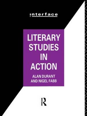 Literary Studies in Action - Interface (Paperback)