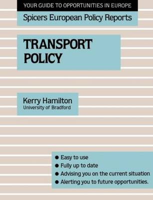 Transport Policy (Paperback)