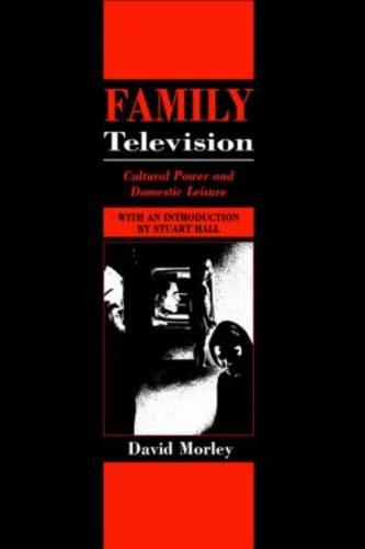 Family Television: Cultural Power and Domestic Leisure - Comedia (Paperback)