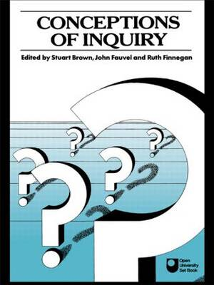 Conceptions of Inquiry (Paperback)