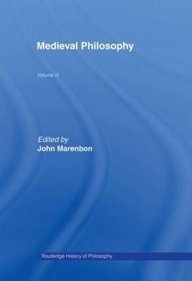 Routledge History of Philosophy: v. 3: Medieval Philosophy (Hardback)