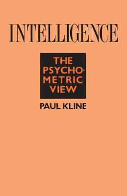 Intelligence: The Psychometric View (Paperback)