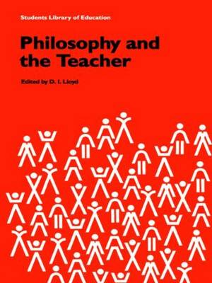 Philosophy and the Teacher (Paperback)