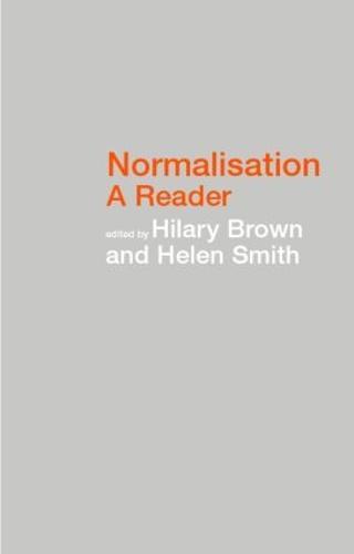 Normalisation: A Reader (Paperback)