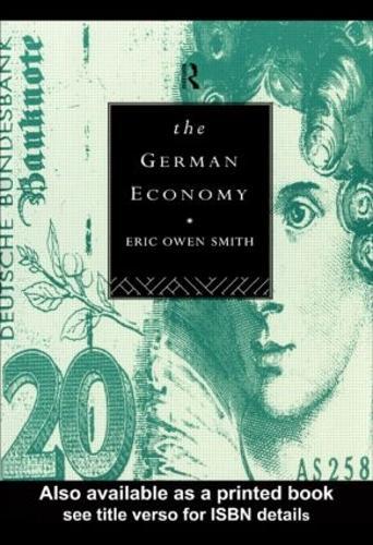 The German Economy (Paperback)