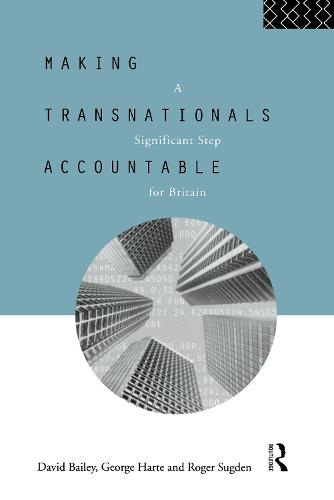 Making Transnationals Accountable: A Significant Step for Britain (Hardback)