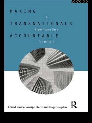 Making Transnationals Accountable: A Significant Step for Britain (Paperback)