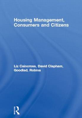 Housing Management, Consumers and Citizens (Hardback)