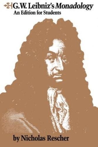 G.W. Leibniz's Monadology (Paperback)