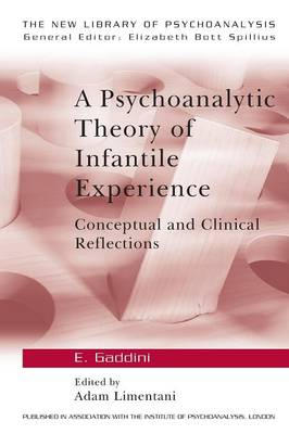 A Psychoanalytic Theory of Infantile Experience: Conceptual and Clinical Reflections - New Library of Psychoanalysis (Paperback)