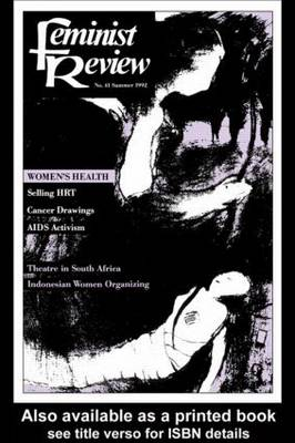 Feminist Review: Issue 41 (Paperback)