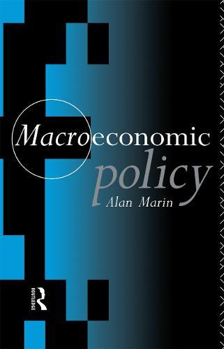 Macroeconomic Policy (Paperback)