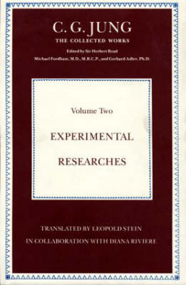 Experimental Researches - Collected Works of C.G. Jung (Hardback)