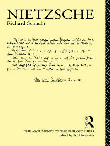 Nietzsche - Arguments of the Philosophers (Paperback)