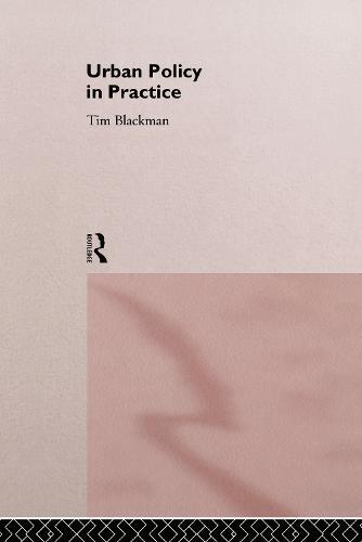 Urban Policy in Practice (Hardback)