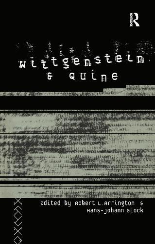 Wittgenstein and Quine (Hardback)