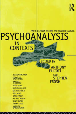 Psychoanalysis in Context: Paths between Theory and Modern Culture (Paperback)