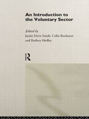 Introduction to the Voluntary Sector (Hardback)