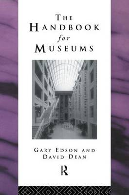Handbook for Museums - Heritage: Care-Preservation-Management (Hardback)