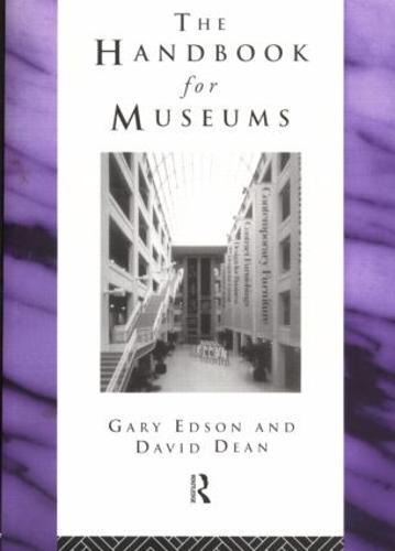 Handbook for Museums - Heritage: Care-Preservation-Management (Paperback)