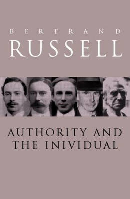 Authority and the Individual (Paperback)