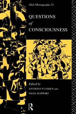 Questions of Consciousness - ASA Monographs (Paperback)