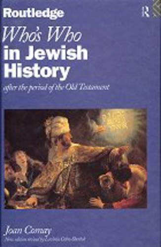 Who's Who in Jewish History: After the Period of the Old Testament - Who's Who (Hardback)