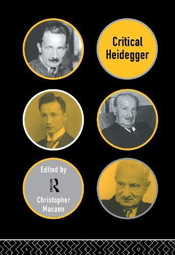 Critical Heidegger (Hardback)