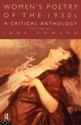 Women's Poetry of the 1930s: A Critical Anthology (Paperback)