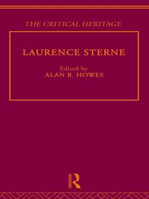 Laurence Sterne: The Critical Heritage (Hardback)
