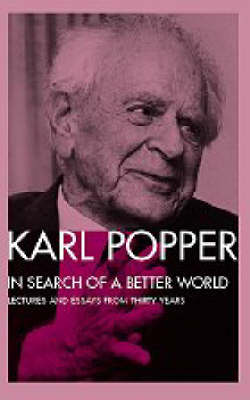 In Search of a Better World: Lectures and Essays from Thirty Years (Paperback)