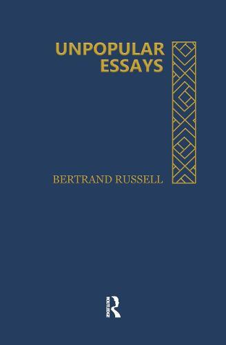 Unpopular Essays (Hardback)