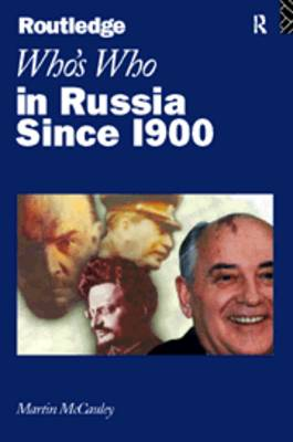 Who's Who in Russia since 1900 (Paperback)