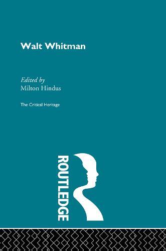 Walt Whitman (Hardback)