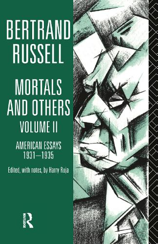Mortals and Others, Volume II: American Essays 1931-1935 (Hardback)