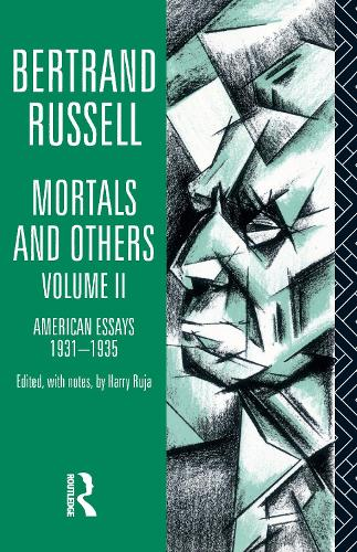 Mortals and Others, Volume II: American Essays 1931-1935 (Paperback)