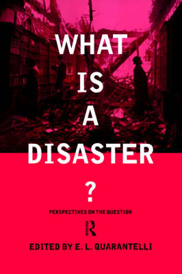 What is a Disaster?: A Dozen Perspectives on the Question (Paperback)