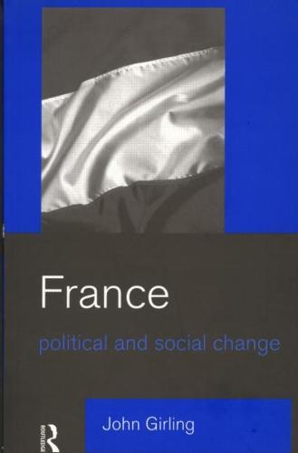 France: Political and Social Change (Paperback)
