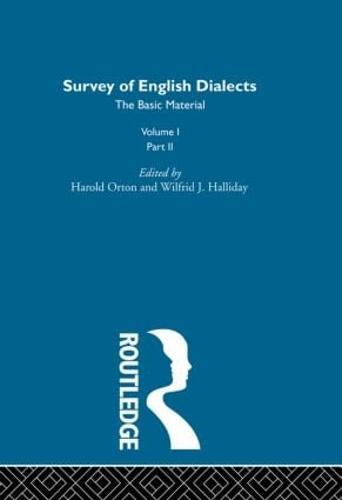 Survey Eng Dialects Vol1 Prt2 (Hardback)