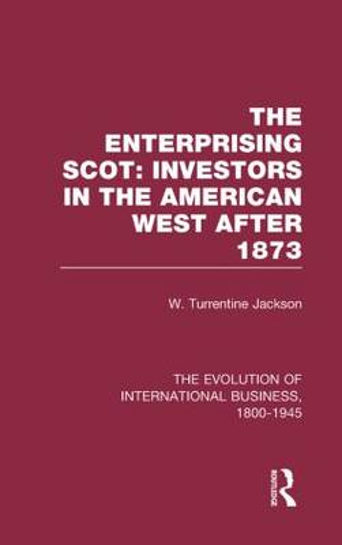 Enterprisng Scot:Inv Americ V3 - The Rise of International Business (Hardback)