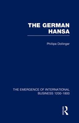 German Hansa V1 - The Rise of International Business (Hardback)