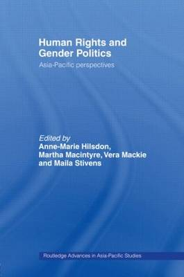 Human Rights and Gender Politics: Asia-Pacific Perspectives (Paperback)