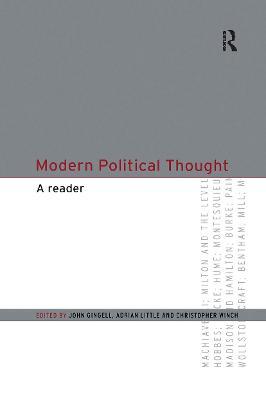 Modern Political Thought: A Reader (Hardback)